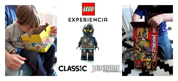 experiencia con juguetes Lego Ninjago y Classic