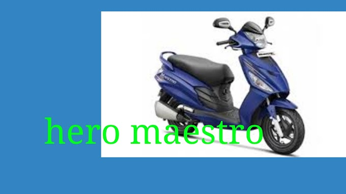 Hero maestro edge 125 scooty launched in New Delhi price at 47,300