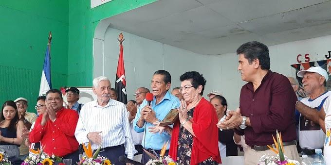 Nicaragua Reconocen aporte de los Comandantes Víctor Tirado y Olga Avilés en la lucha obrera