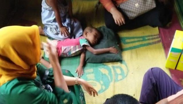Terpaksa Makan Sabun Karena Miskin Kelaparan, Tubuh 3 Anak Ini Jadi Lemah dan Sakit-sakitan