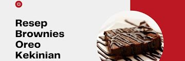 Resep Brownies Oreo Kekinian yang Lezat