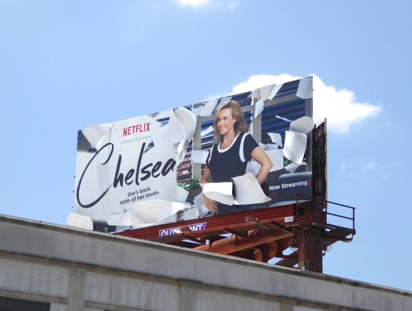Chelsea talk show 3D billboard