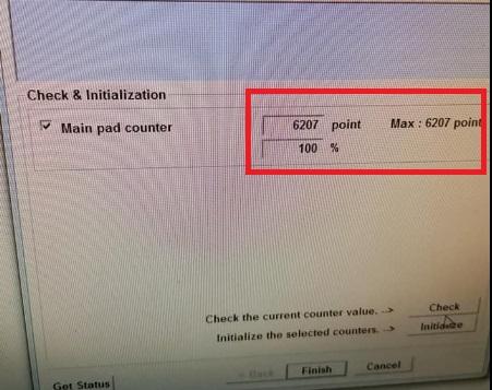 jumlah centang reset printer epson L360