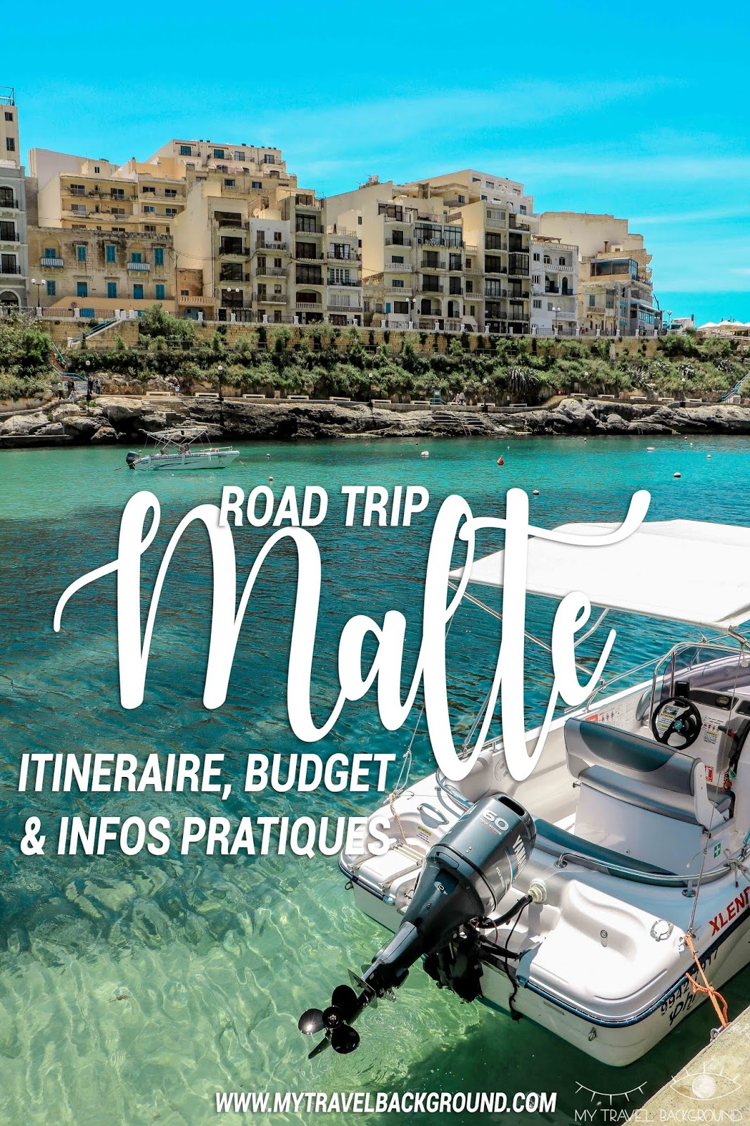 My Travel Background : Road trip à Malte, itinéraire, budget et infos pratiques