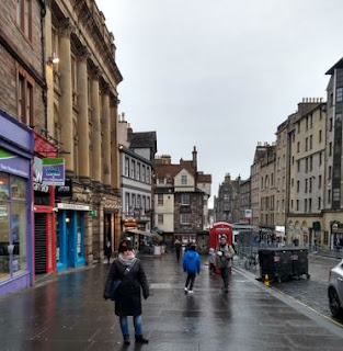 Royal Mile de Edimburgo.