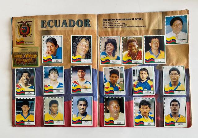 figurine Ecuador copa america '95  Navarrete