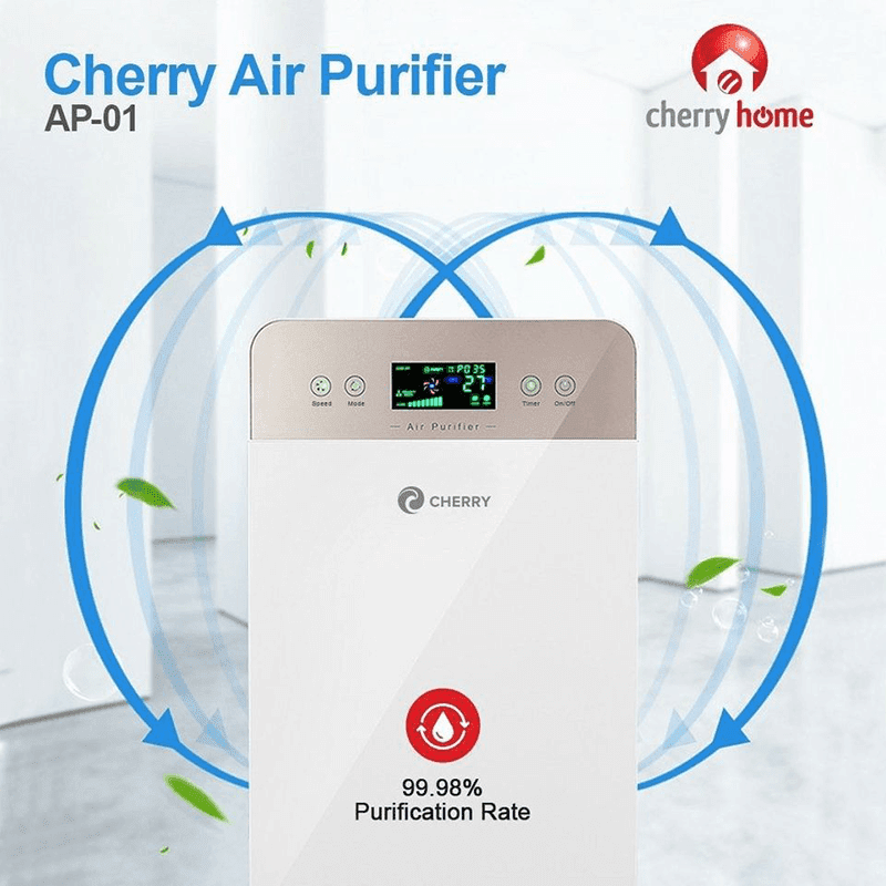 Cherry Air Purifier AP-01 with 5-stage air purification system is priced at just PHP 3,500!
