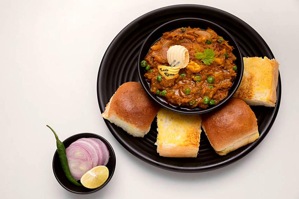 Pav Bhaji Recipe in Hindi