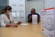Cerrejón entregó 7.000 mascarillas a hospitales de La Guajira