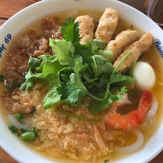 ベトナム料理バインカイン(Bánh canh)