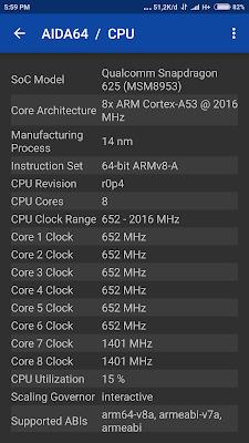 Spesifikasi Xiaomi Redmi Note 4x