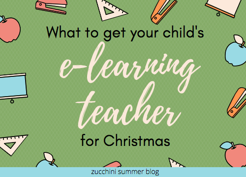 Gift ideas for elearning teachers