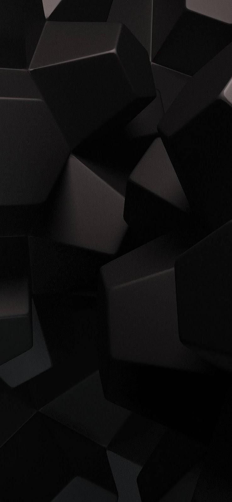 sfondo nero 3D