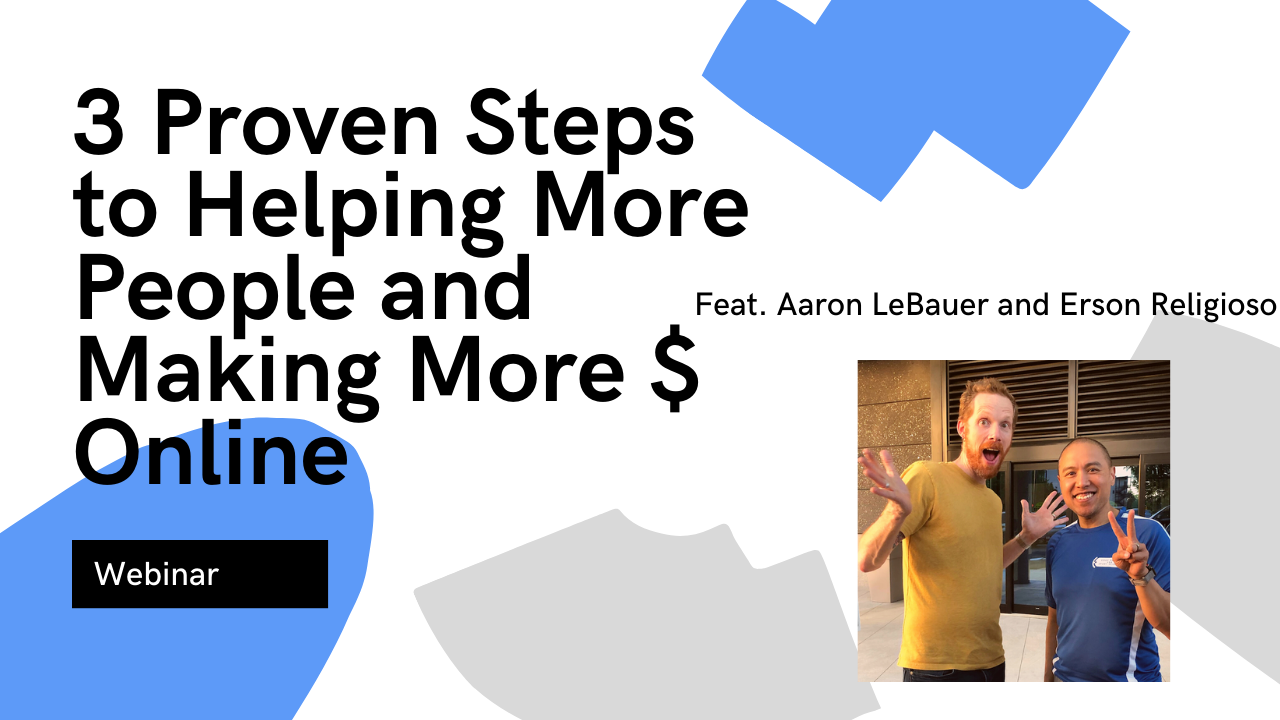 3 Proven Steps to Helping More People and Making Money Online - modernmanualtherapy.co