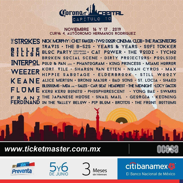 Corona Capital 2019 Cartel