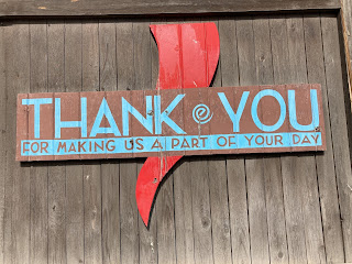 The importance of saying Thank You in the USA