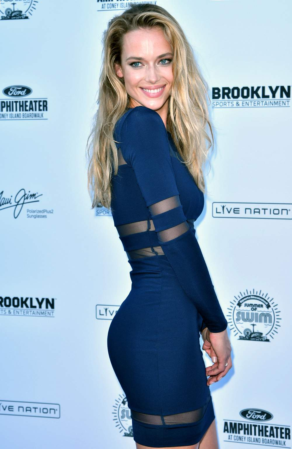 HQ Photos of Hannah Ferguson – Sports Illustrated Swimsuit Summer of Swim Concert at Coney Island