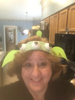 Toy story hat for April Fools Day Fun