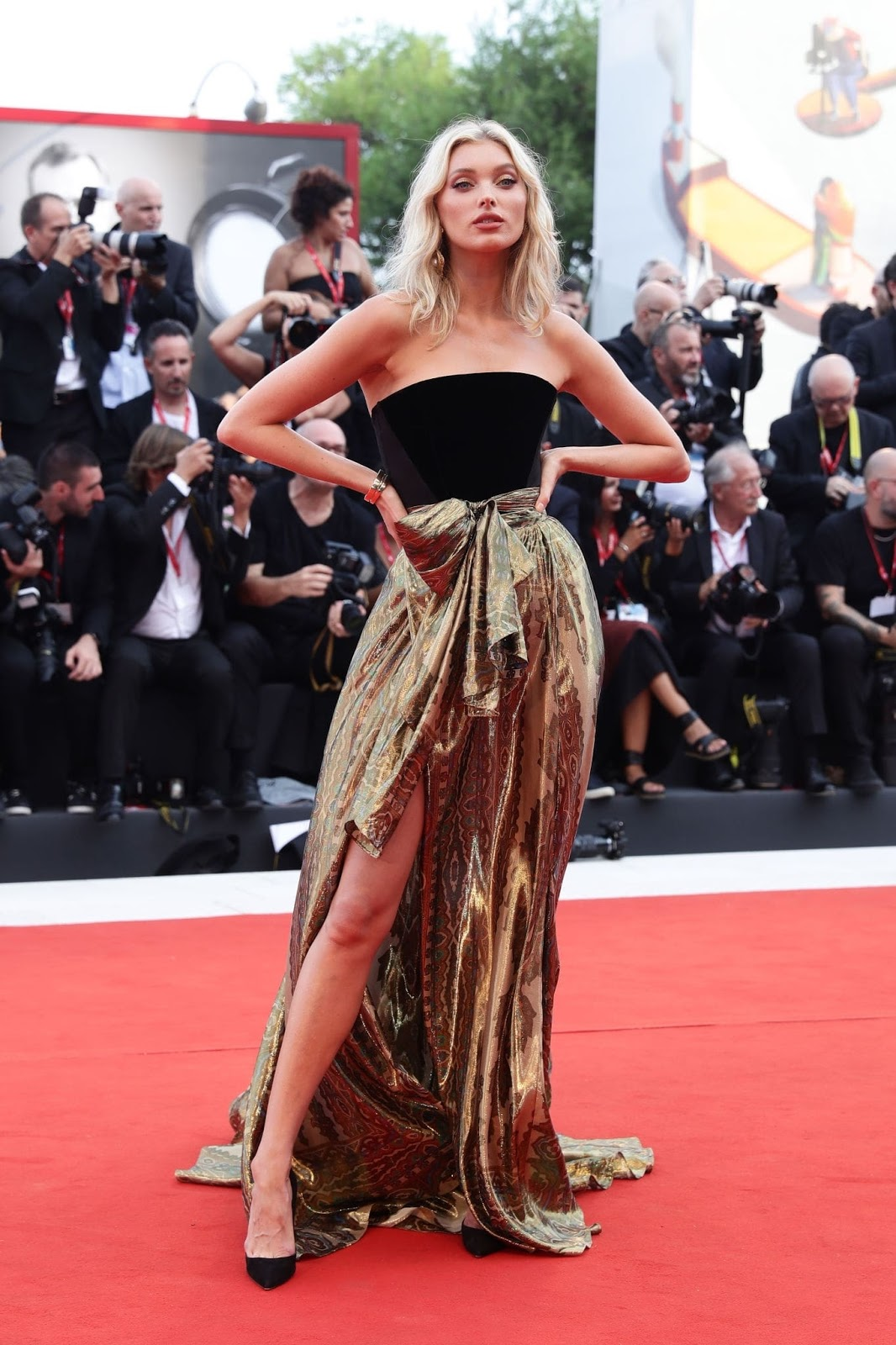 Elsa Hosk – 'Marriage Story' Premiere at the 2019 Venice Film Festival red carpet