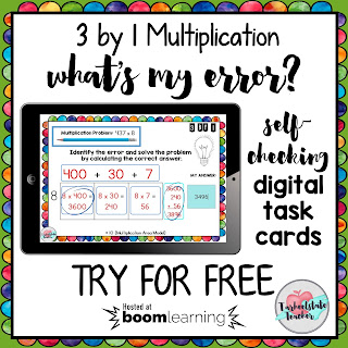 My 4th grade and 5th grade task cards have gone digital with a new interactive platform called Boom Learning! Digital task cards are especially awesome for math centers, math stations, whole group lessons, and differentiation. If you've been looking for alternatives to Google Drive or Google Classroom--you probably want to check this out! Are you going paperless in your classroom (or at least trying to reduce your copies at school)? I'll give you options for getting the pdf printable versions as well as the digital versions so that you will have the choice for