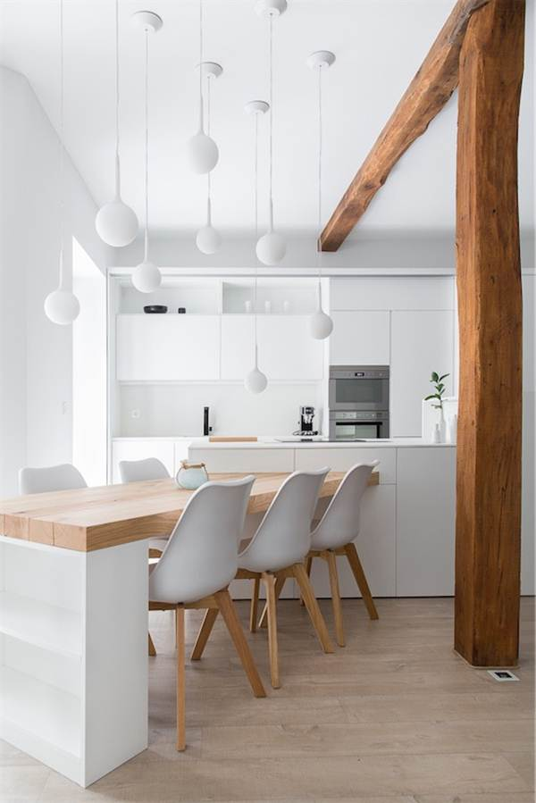 Ideas To Decorate In White And Wood 7