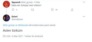 Twitterın ilk tweetini alan kişi Sina Estavi Türk çıktı