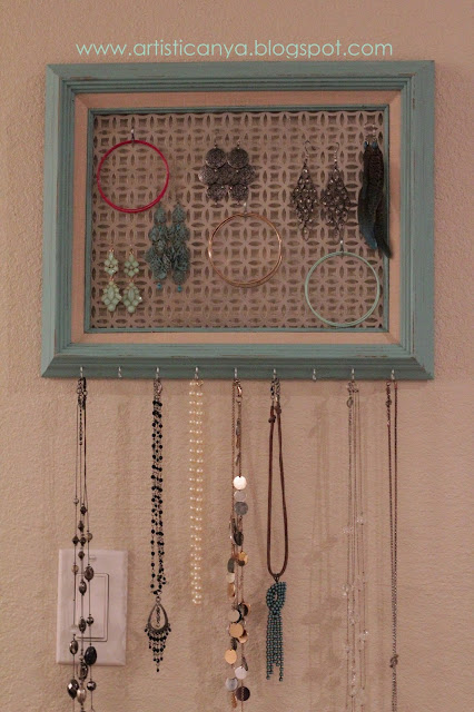 Artistic Anya Designs Diy Turquoise Jewelry Holder