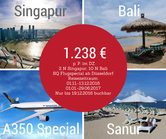A350 Special Bali Singapur