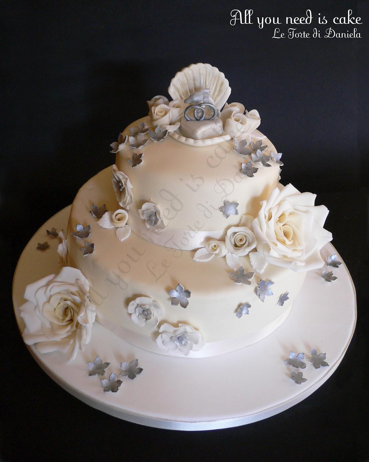 Molto All you need is cake - Le torte di Daniela: 25 Anni di Matrimonio  ZL17