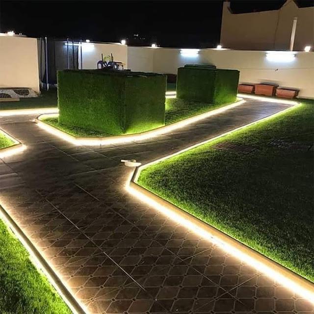 ترتيب الحدائق المنزلية في الرياض