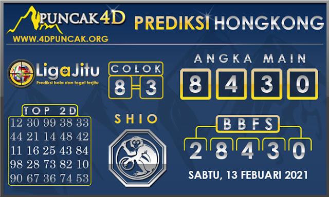 PREDIKSI TOGEL HONGKONG PUNCAK4D 13 FEBUARI 2021