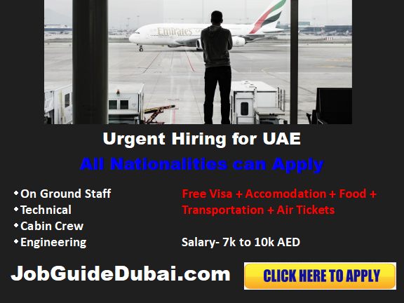 Airline Career and jobs in Dubai UAE for latest vacancies 2019. All the current openings in various position for cabin and on ground jobs.