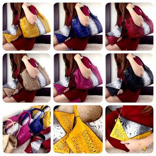 Fashion Bag Cervo Glamours set 2in1 7767
