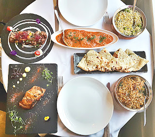 Chakra restaurant food