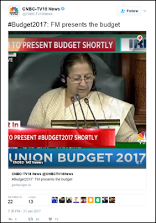 Twitter records over 700K Tweets with #Budget2017