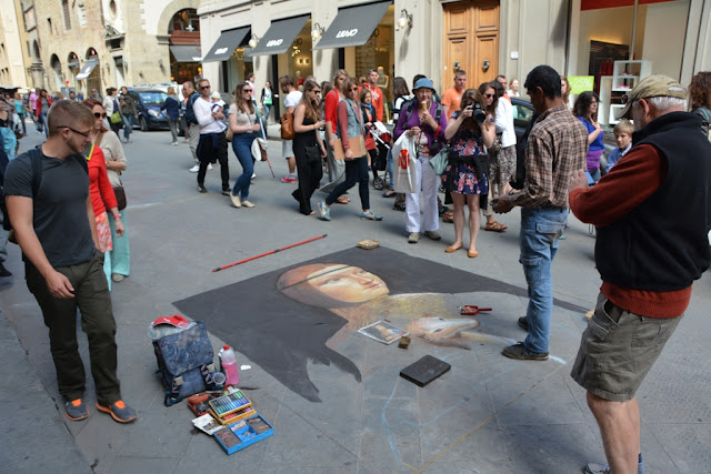 Florence street artists