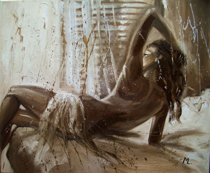 Польская художница. Monika Luniak