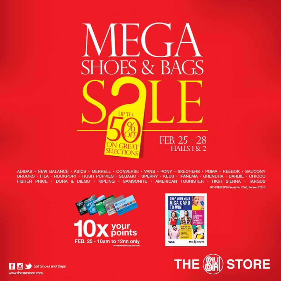 fa547460329 Manila Shopper  Mega Shoes   Bags SALE at SM Megatrade  February 2016