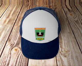 desain topi lambang logo provinsi sumatera barat - kanalmu