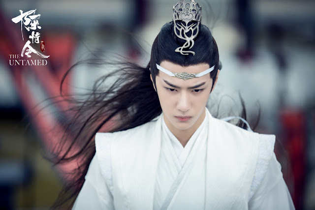 the untamed cast wang yibo lan zhan