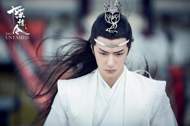 the untamed cast wang yibo lan zhan