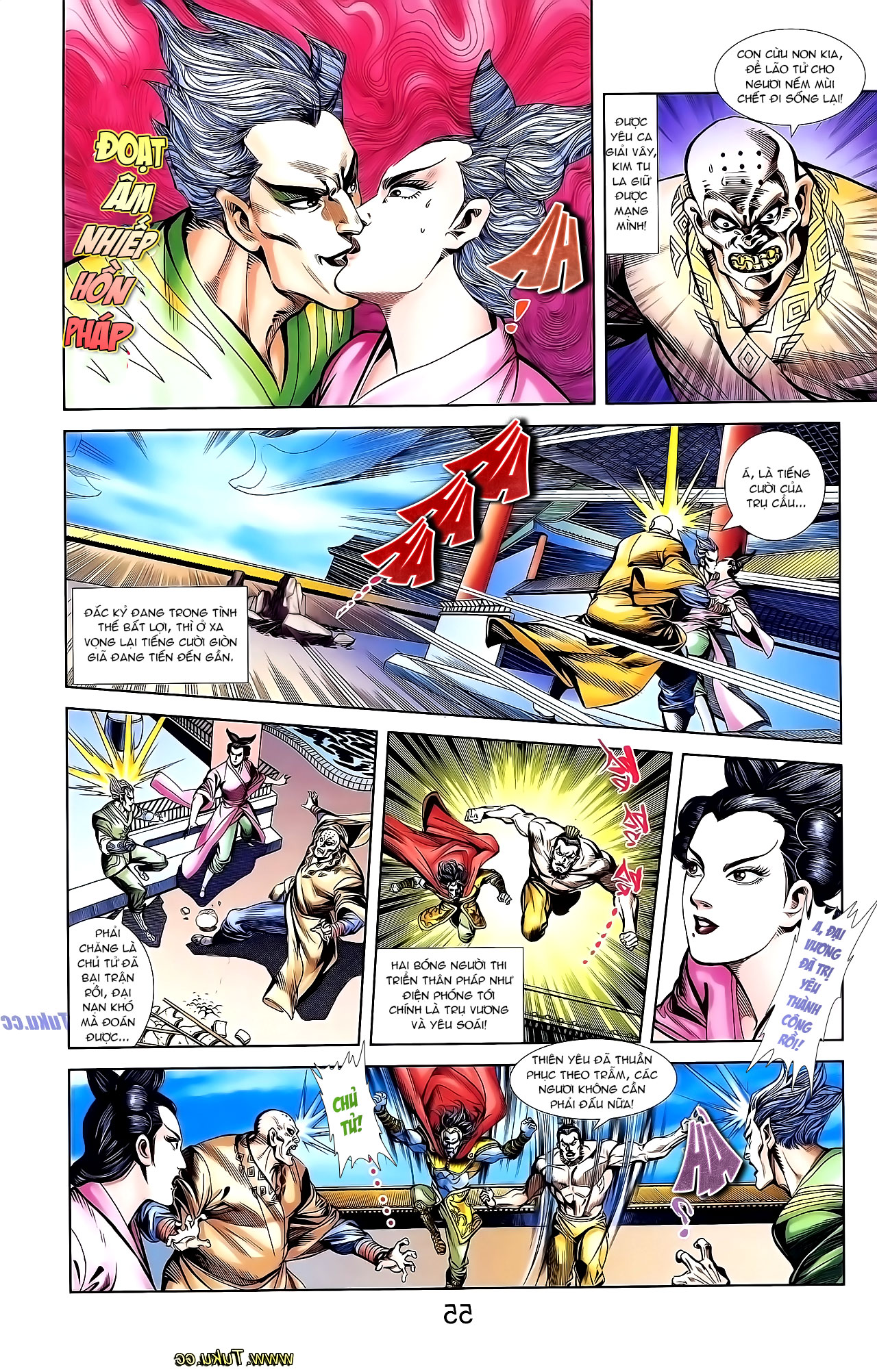 Cơ Phát Khai Chu Bản chapter 137 trang 19