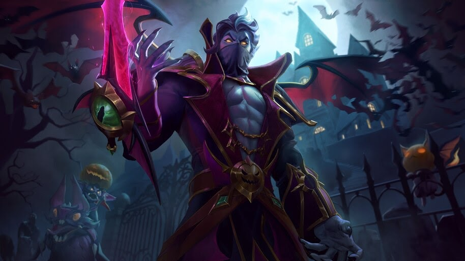 Count, Kassadin, Splash Art, LoL, 8K, #3.1135