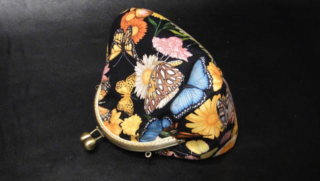 Летняя сумочка с бабочками - подарок девочке, подарок девушке