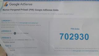 Cara Cepat Dapat Pin Google Adsense Dari Kantor Pos