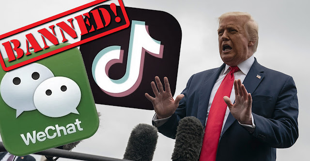 Trump Moves to Ban TikTok, WeChat in U.S., Pressuring China