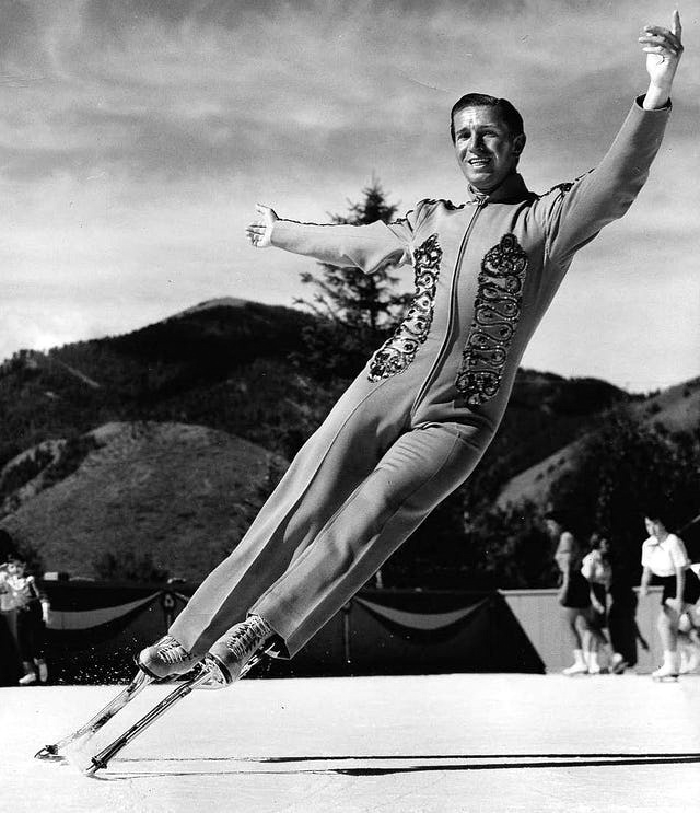 Fritz Dietl the Stilt-Man