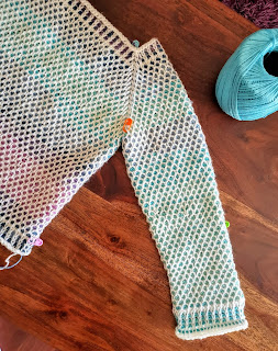 Tunisian crochet Sweater PATTERN