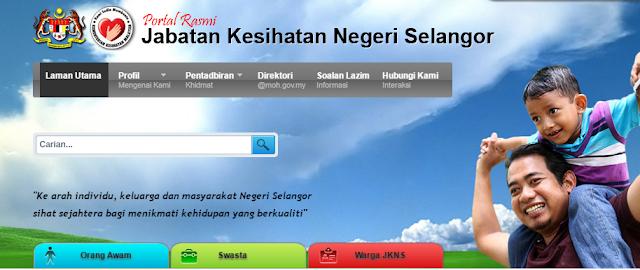 Rasmi - Jawatan Kosong (JKNSelangor) Jabatan Kesihatan Negeri Selangor 2019