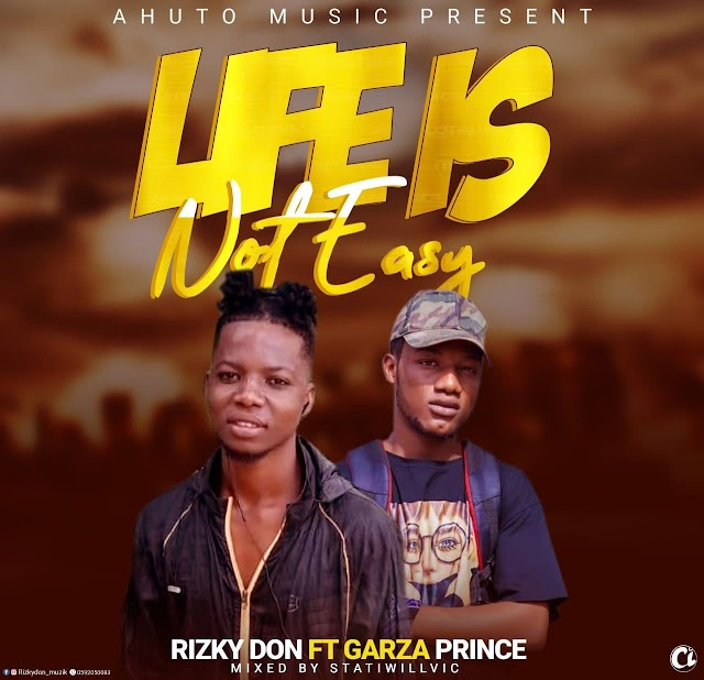 Rizky Don ft Garza Prince-life is not easy(Mixed by StatiWillvic)